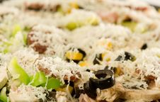 Free Ready To Cook Pizza Stock Image - 4180091