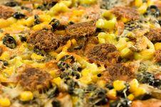Free Closeup Homemade Pizza Stock Photo - 4180100