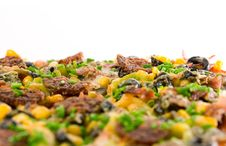 Free Closeup Homemade Pizza Royalty Free Stock Images - 4180199