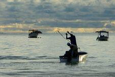 Free Fishermen Royalty Free Stock Photography - 4180887