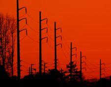 Free Powerful Sunset Royalty Free Stock Image - 4180986