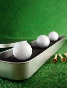 Free Golfballs Royalty Free Stock Images - 4181209