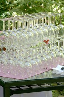 Free Wine Glasses Stock Image - 4181211