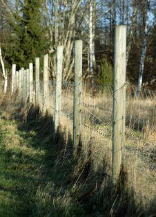 Free Fence Royalty Free Stock Image - 4181276