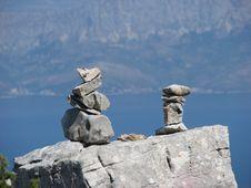 Free Standing Stones Stock Photos - 4181823