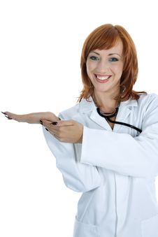 Free Young Doctor With Stethoscope Royalty Free Stock Photos - 4182398