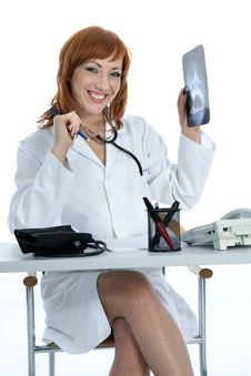 Free Young Doctor With Stethoscope Stock Photos - 4182703