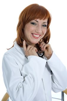Free Young Doctor With Stethoscope Stock Photos - 4182723