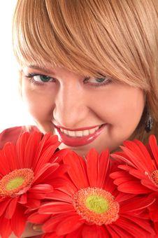 Free Smiling Blonde Royalty Free Stock Images - 4183129