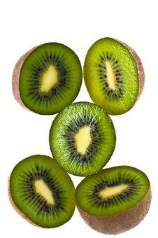Free Nutritious Chopped Kiwi Fruit Stock Photos - 4183413