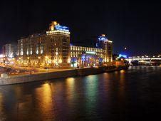 Free Quay Moskva River Stock Photos - 4184913