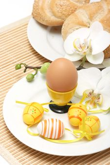 Free Easter Breakfast Royalty Free Stock Photography - 4184937