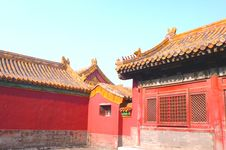 Forbidden City, Beijing Stock Images