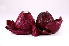 Free Red Cabbage 2 Stock Image - 4185621