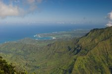 Free Kauai Ocean Vista Royalty Free Stock Image - 4185646