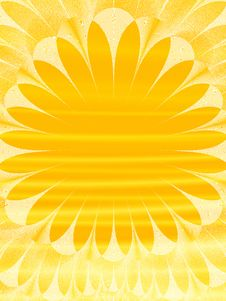 Free Abstract Sunflower Stock Photography - 4185782