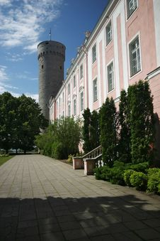 Free Tallin Parliament Royalty Free Stock Photos - 4186178