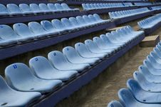 Free Empty Stadim Seats Royalty Free Stock Photos - 4186518