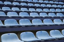 Free Empty Stadim Seats Stock Images - 4186564
