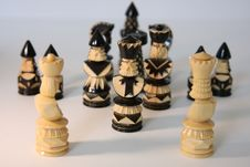 Free Chess-men Royalty Free Stock Photo - 4187185