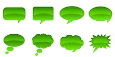 Free Speech Bubbles Stock Images - 4187644