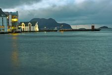 Free Alesund Harbour Stock Photos - 4187693