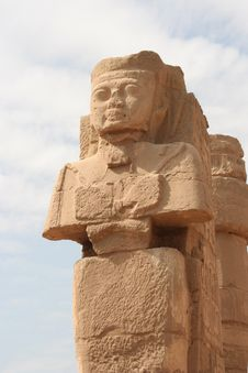 Free Statues Of Ramses Royalty Free Stock Image - 4188566
