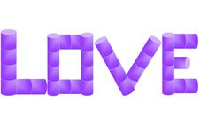 Free Letters For Love Stock Photography - 4188962
