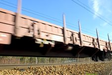 Free Moving Train Stock Photography - 4189012
