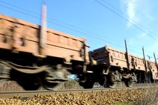 Free Moving Train Royalty Free Stock Photos - 4189148