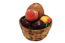 Free Fruit Basket 4 Royalty Free Stock Photography - 4189267
