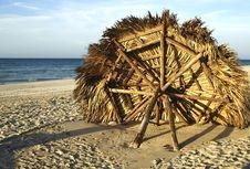 Free Fallen Cabana Stock Image - 4189991