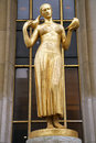 Free Golden Woman Stock Photography - 4195222