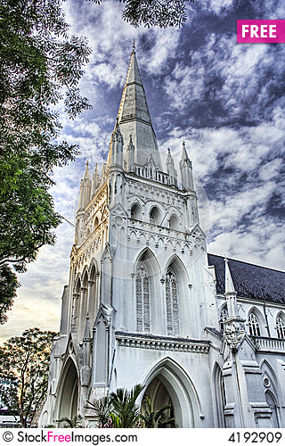 Free St Andrew S Cathedral Royalty Free Stock Images - 4192909