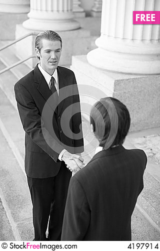 Free Business Handshake Stock Images - 4197914