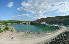 Free Opencast Royalty Free Stock Image - 4190546