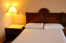 Free Hotel Bedroom Interior Stock Image - 4191341