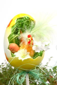 Free Easter Decoration Royalty Free Stock Photography - 4192207