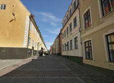Riga Barracks Royalty Free Stock Photography