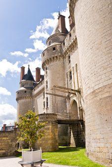 Free Chateau Langeais Entrance Stock Photos - 4193813