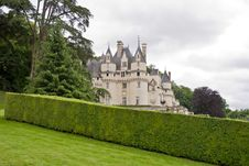Free Chateau Ussé Royalty Free Stock Image - 4193836