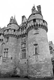Free Chateau Ussé Royalty Free Stock Photos - 4193848