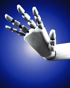 Free Robo Hand 3 Stock Photography - 4193972