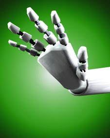 Free Robo Hand 6 Stock Photos - 4193973