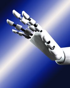 Free Robo Hand 4 Stock Photos - 4193983