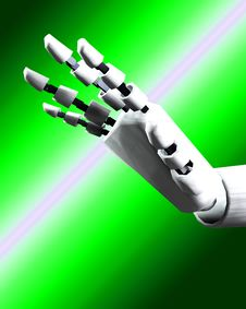 Robo Hand 7 Stock Images
