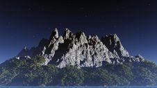 Free Night Landscape Stock Photo - 4194850