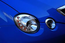 Free Headlight Royalty Free Stock Images - 4195149