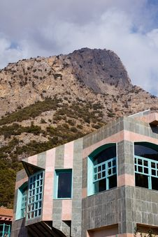 Free Building With Mountain On Background Stock Photography - 4195672
