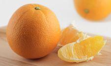 Free Slice And Orange Stock Photography - 4196252